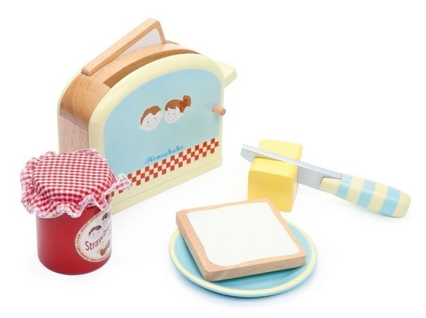 Le Toy Van Ensemble Grille-Pain Honeybake-Toaster Set de  Toy Van