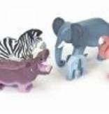 Le Toy Van Ensemble d'Animaux Sauvages -Wild Animals de Van Toy