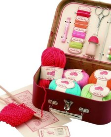 Valise de couture<br /> Sewing kit Moulin Roty