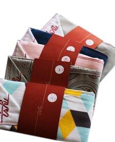 Mouchoirs en Tissu TSHU/ Handkerchief- Assortis Duo