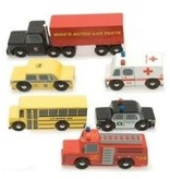 Le Toy Van Ensemble de Voitures Américaines- The New York Set de Toy Van
