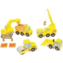 Le Toy Van Ensemble de Construction- Construction Set de Toy Van