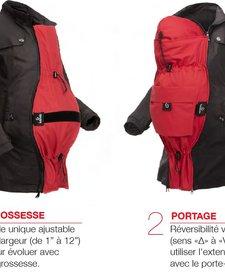 Extension Deluxe pour Manteaux Kokoala - Rouge - Taille Unique