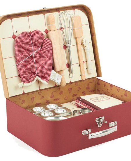 Valise patisserie<br /> Baking set Moulin Roty