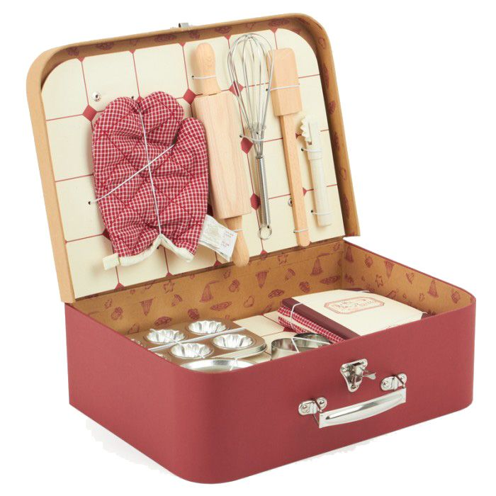 Moulin Roty Valise patisserie<br /> Baking set Moulin Roty