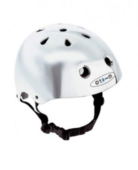Casque Micro Argent Petit/ Micro Helmet Chrome Small