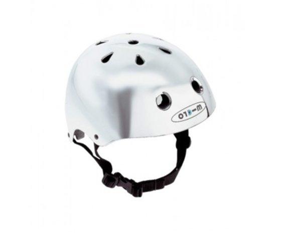 Micro Casque Micro Argent Petit/ Micro Helmet Chrome Small