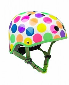 Casque Micro Pois Neon Petit/ Micro Neon Dots Helmet Small