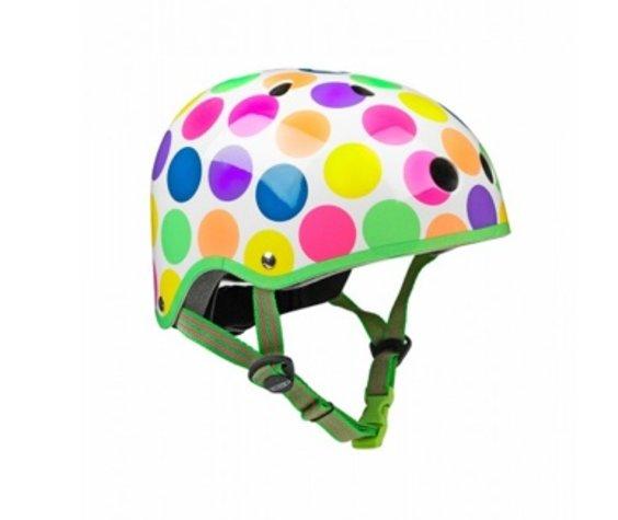 Micro Casque Micro Pois Neon Petit/ Micro Neon Dots Helmet Small