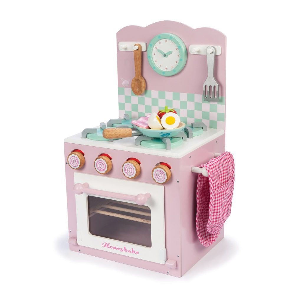 Le Toy Van Four à Cuisson Honeybake Rose- Oven and Hob Set de Toy Van
