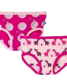 Ensemble de 2 Culottes Kickee Pants/ Girl Underwear Set