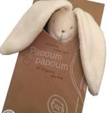 Papoum Papoum Lapinou Doudou Tout Bio de Papoum Papoum/ Rabbit Bio Blanket