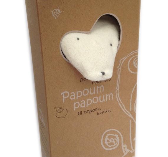 Papoum Papoum Renardoux Doudou Tout Bio de Papoum Papoum/ Fox Bio Blanket