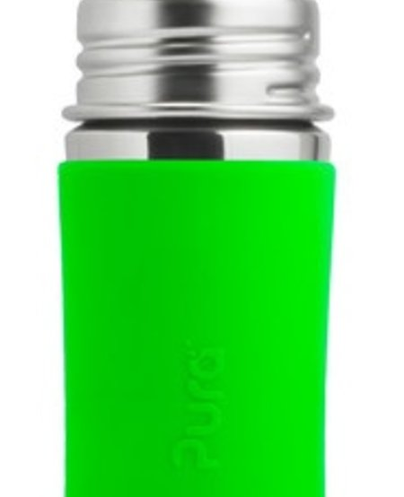 Biberon en acier inoxydable Pura Kiki - Lime - Infant Bottle 11 oz Spring Green