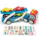 Le Toy Van Camion de Transport de Voitures de Course Toy Van/ Race Car Transporter Set