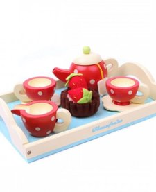 Ensemble de Thé en Bois Toy Van/ Tea Set
