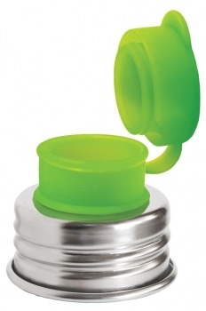 Pura kiki Bec de Bouteille pour Grands Pura Kiki- Big Mouth Silicone Sport Top-Vert