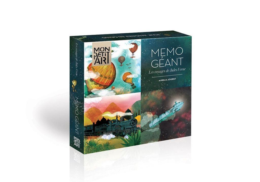 Mon Petit Art Jeu de Mémoire Géant Les Voyages de Jules Verne