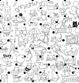 Rue Tabaga Coloriage Géant Les Chats de Rue Tabaga (92cm/122cm)/ Giant Coloring Poster Cats