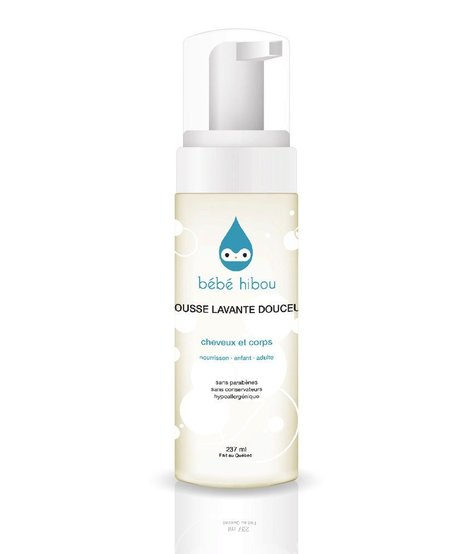 Mousse Lavante Douceur  237ml Bébé Hibou/ Gentle Cleansing Foam
