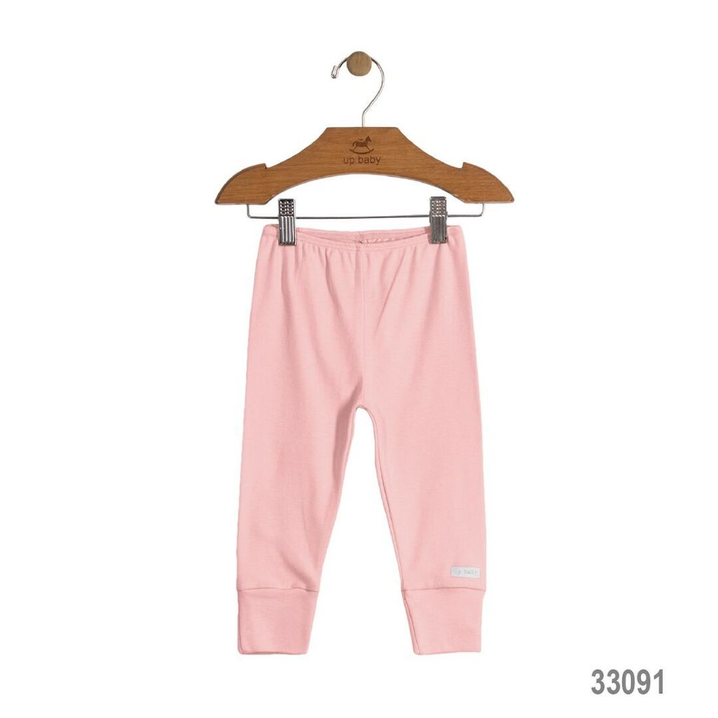 Up Baby SS17 Legging Uni Up Baby/ Solid Jersey Cotton Pants Pink