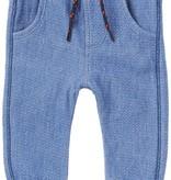 Noppies FW17-Pantalons Conforts de Noppies/ B Pant Jersey Curved Duma Indigo