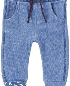 SS17-Pantalons Conforts de Noppies/ B Pant Jersey Curved Duma Indigo