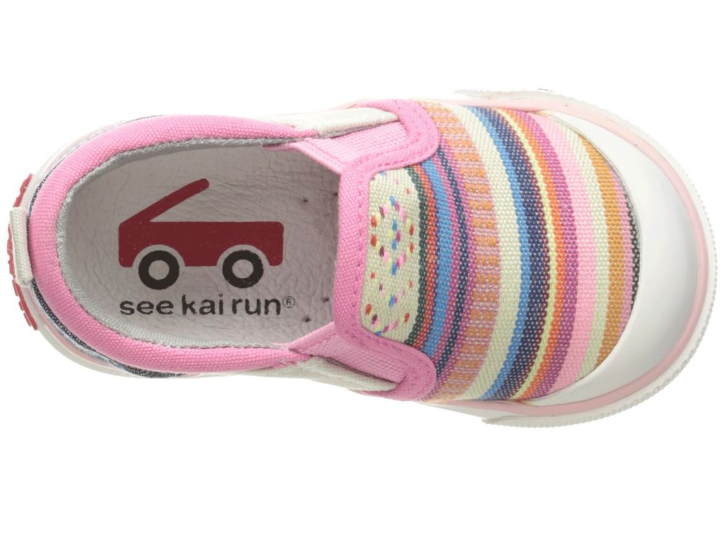 See Kai Run SS17 Souliers Italya Multi Stripe See Kai Run Sneakers