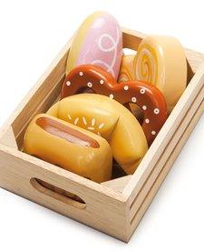 Panier du Boulanger en Bois de Toy Van/ Wooden Baker Basket