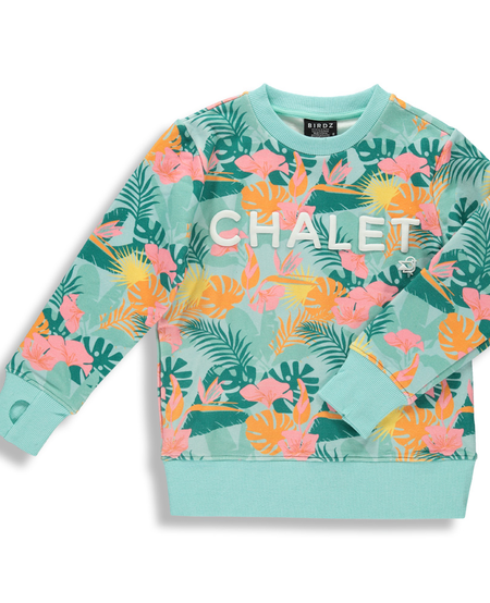 SS21 SWEAT CHALET JUNGLE ROSE/SWEAT PINK JUNGLE