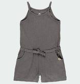 Boboli SS21 Combinaison Short à Bretelles avec Noeud de Serrage de Boboli - Jumpsuit