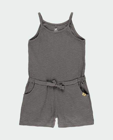 SS21 Combinaison Short à Bretelles avec Noeud de Serrage de Boboli - Jumpsuit