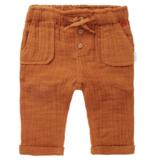 Noppies SS21 Pantalon en Toile avec Noeud et Boutons en Bois de Noppies Baby - Relax Fit Pants