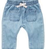 Noppies SS21 Pantalon Jean avec Détail Poches Avant et Noeud Brillant de Noppies