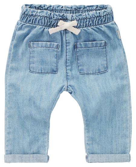 SS21 Pantalon Jean avec Détail Poches Avant et Noeud Brillant de Noppies