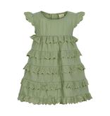 Enfant SS21 Robe verte menthe/dress lint