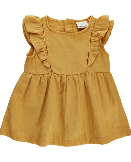 SS21 Robe jaune ocre/dress ochre