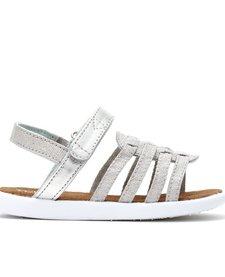 SS17 Chaussures Toms Shoes - Huarache Silver Metallic Linen