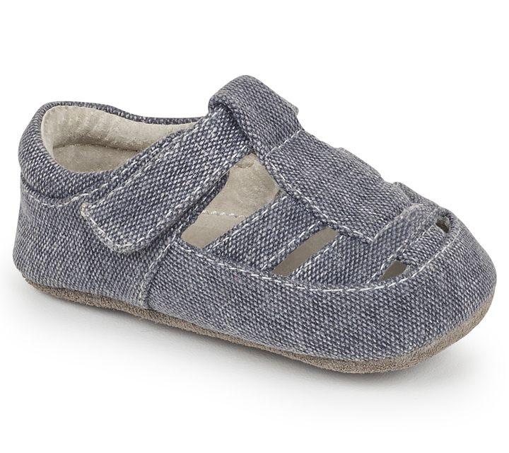See Kai Run SS17 Souliers Bébé Jude Gray Canvas See Kai Run Shoes