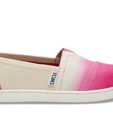 SS18 Chaussures Toms Shoes - Fuchsia Dip Dye