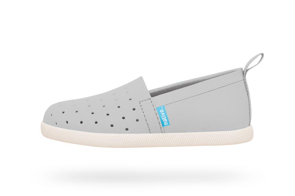 Native SS17 Souliers Native Venice Pigeon Grey/Bone White Shoes