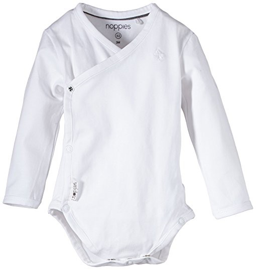 Noppies SS18 Cache-Couche Blanc Manches Longues Noppies