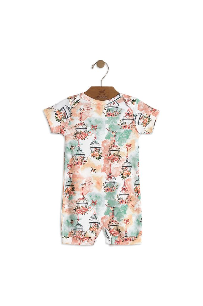 Up Baby SS18 Barboteuse Fleurie de Up Baby