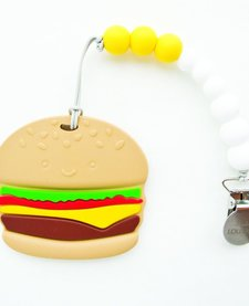 Jouet de Dentition Hamburger de Loulou Lollipop/ Burger Teether