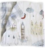 Loulou Lollipop Courtepointe Bambou Londres 120cm de Loulou Lollipop/ Bamboo Quilt London 47'
