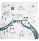 Loulou Lollipop Courtepointe Mousseline Paris 120cm de Loulou Lollipop/ Muslin Quilt Paris 47'