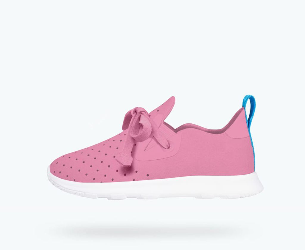 Native FW18 Souliers Native Apollo Moc Malibu Pink/Shell White AP Moc