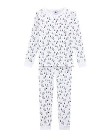 FW18 Pyjama SnugFit Marin 2 Pièces / Petit Bateau