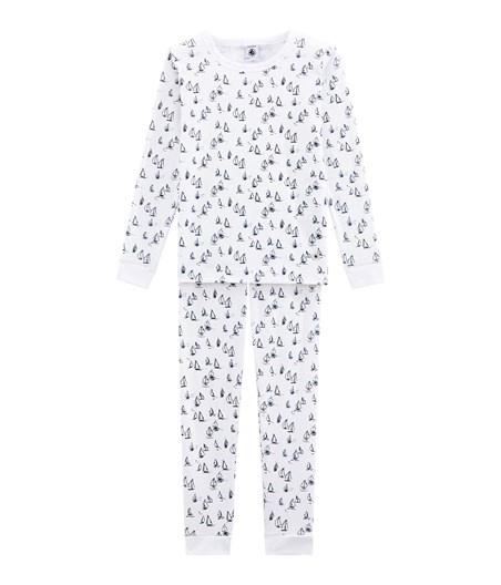 Petit Bateau FW18 Pyjama SnugFit Marin 2 Pièces / Petit Bateau