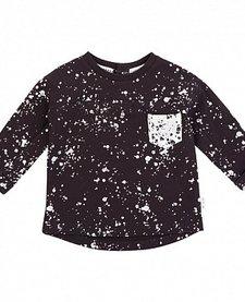 FW18 Chandail à Manches Longues Miles Baby Splatter T-Shirt
